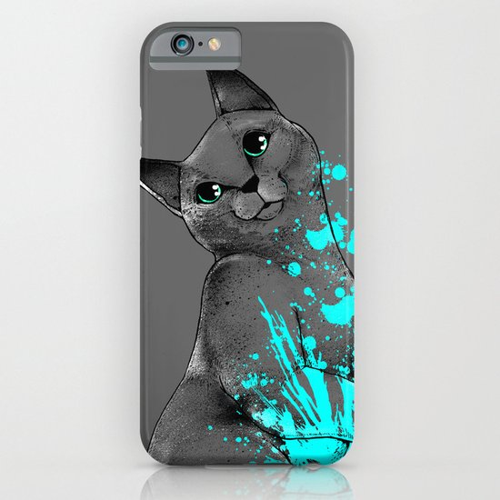 Russian Blue iPhone & iPod Case