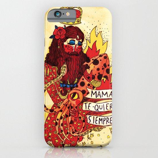 Mom Tattoo iPhone & iPod Case