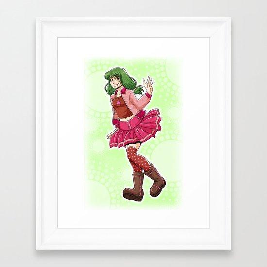 Sugar Pie Framed Art Print