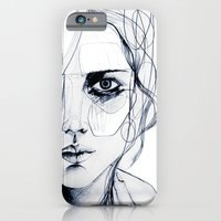 iPhone & iPod Case featuring Sketch V by Holly Sharpe