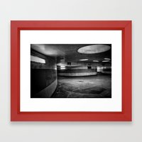 Kubrickian Framed Art Print