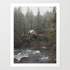 River House Art Print