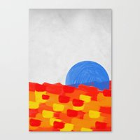 SUNSEA Canvas Print