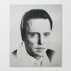 Christopher Walken Canvas Print
