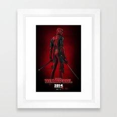 Deadpool (Poster) Framed Art Print