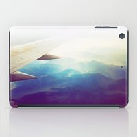 morning plane iPad Case