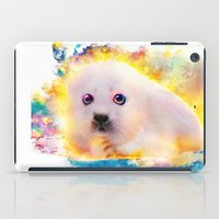 Curious Seal iPad Case