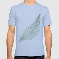 fern  Mens Fitted Tee Athletic Blue SMALL