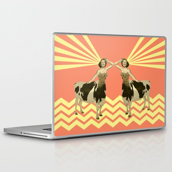 The real girly cow girl Laptop & iPad Skin