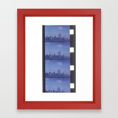 world trade center Framed Art Print