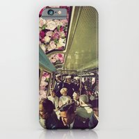 iPhone & iPod Case featuring subway by Caroline A