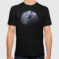 Planetary Bodies - Cloud Ripple Mens Fitted Tee Tri-Black SMALL