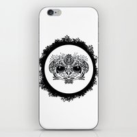 Half Evil Wild Monkey iPhone & iPod Skin