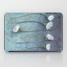 Daisies in a row iPad Case