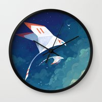 Flyby Wall Clock