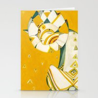 Guardian Of The Moon Stationery Cards