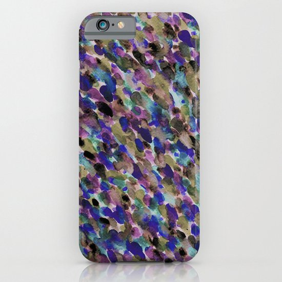 Purple and Olive iPhone & iPod Case