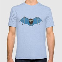 The bat! Mens Fitted Tee Tri-Blue SMALL