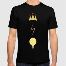 The Golden Trio SMALL Black Mens Fitted Tee