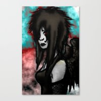 Angel Redone  Canvas Print