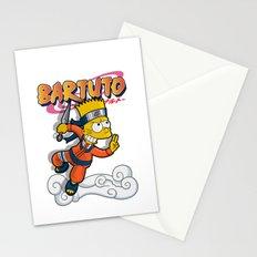 Bartuto: Bart Simpson meets Naruto Uzumaki Stationery Cards