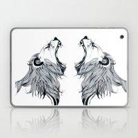 Growling Lion  Laptop & iPad Skin
