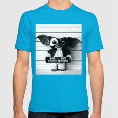Gizmo lineup Mens Fitted Tee Teal SMALL