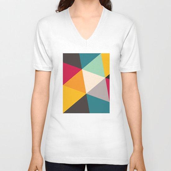 Triangles V-neck T-shirt