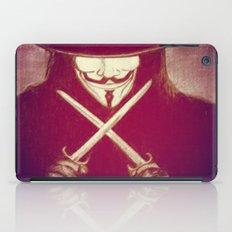 V for Vendetta4 iPad Case