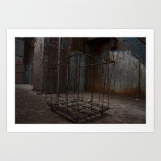 Hollow Cart Art Print