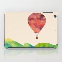 Sunset balloon iPad Case