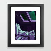 The Devil Shot My Kneecaps (Inspired by Say Anything's 'Say Anything') Framed Art Print