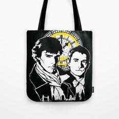 John and Sherlock  Tote Bag