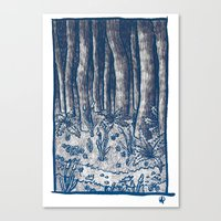Oregon Forest Canvas Print