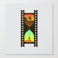 Movie Time Canvas Print