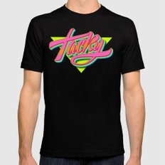 Tacky SMALL Mens Fitted Tee Black