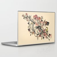 butterfly Laptop & iPad Skins featuring La Dolce Vita by Norman Duenas