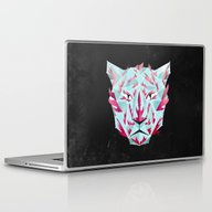 Laptop & iPad Skin featuring Thy Fearful Symmetry by Littleclyde