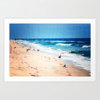 Alone With The Calming W… Art Print