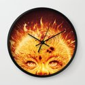 The Sun (Young Star) Wall Clock