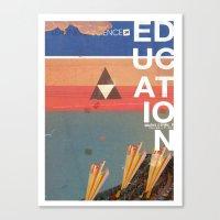 Education - Prepare For … Canvas Print