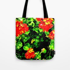 Red Flowers (Edited)  Tote Bag