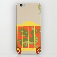 Beast Train iPhone & iPod Skin