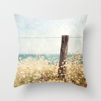 Houat #8 Throw Pillow