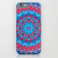 Octagon Rosette 002   Co… iPhone 6 Slim Case