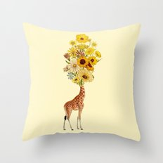 Head Problems Throw Pillow