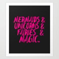 The Magical Creatures Art Print