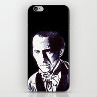 The Gentle Man Of Horror iPhone & iPod Skin