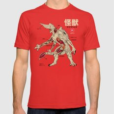 Kaiju Anatomy Mens Fitted Tee Red SMALL