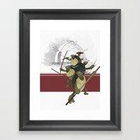 Turtle Drome Framed Art Print